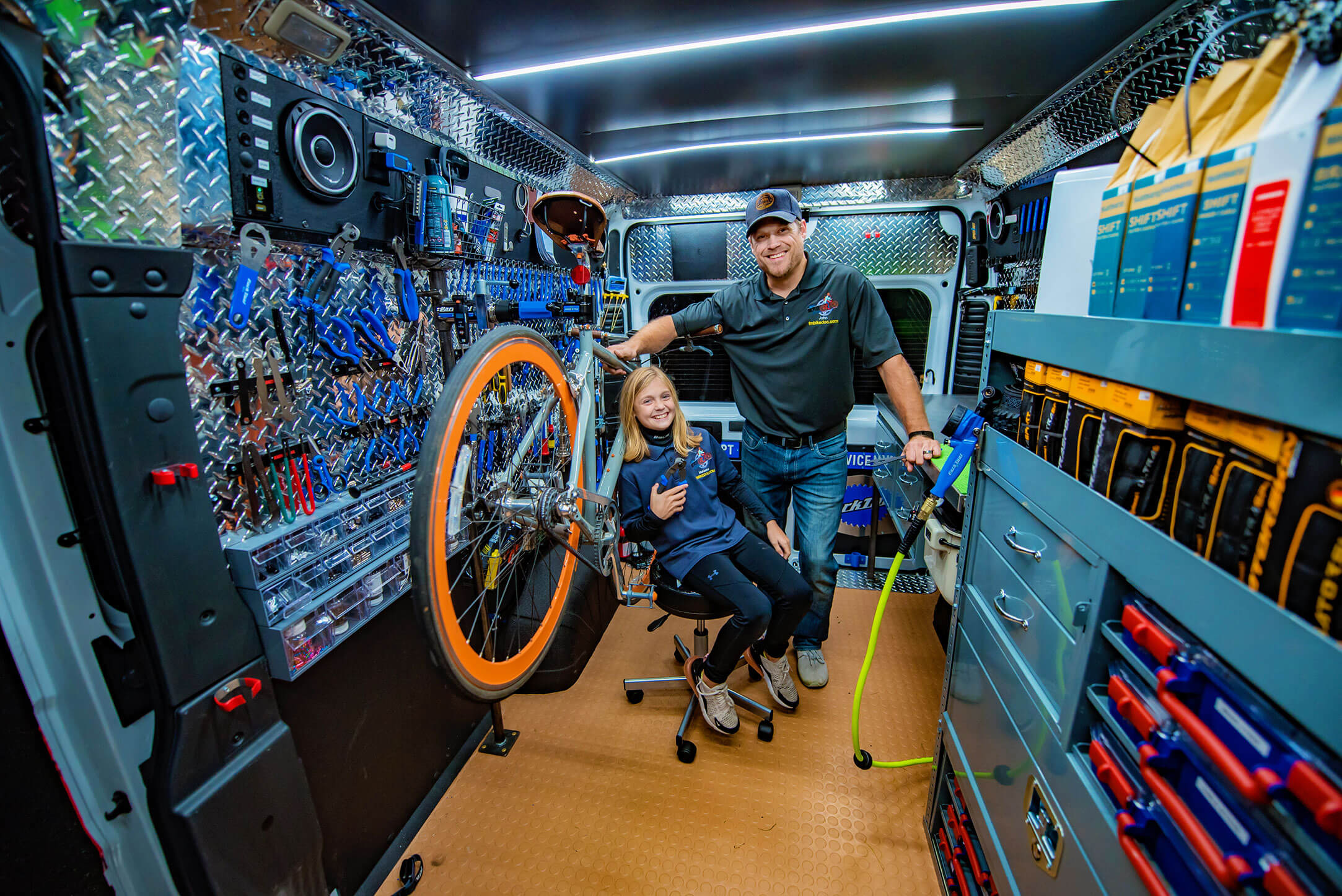 Full-service bicycle repair shop in fargo nd - Mobile Bike Doctor